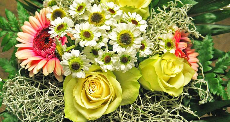 Virágok a házban